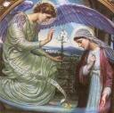Mary & Gabriel the angel